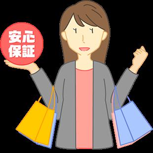 お買い物保証制度